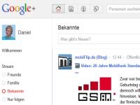 Google+ liegt im Trend