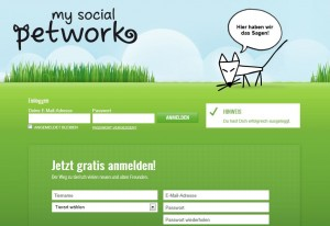 My Social Petwork - soziale Netzwerk für Haustiere