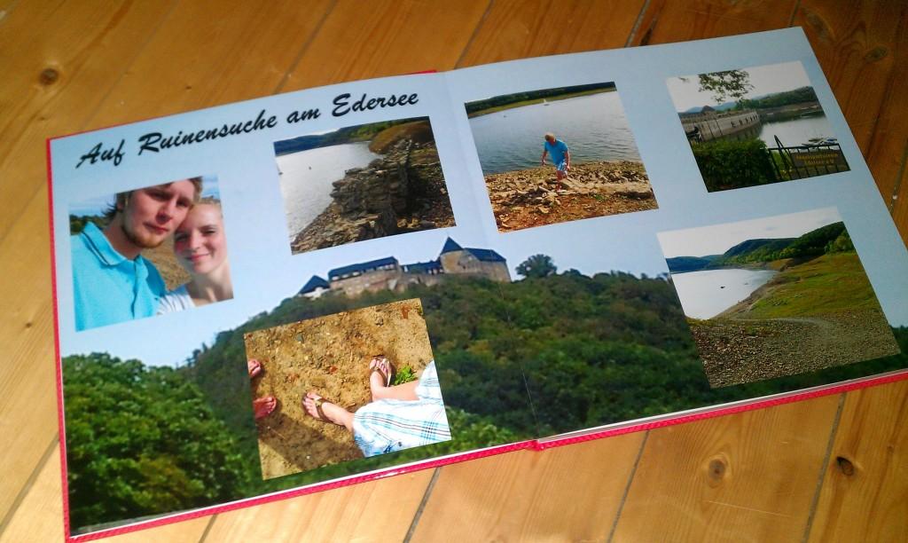 CEWE Fotobuch Inhalt