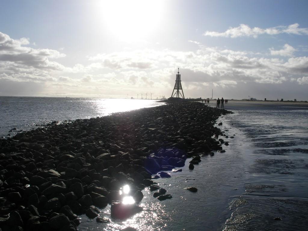 Kugelbake Cuxhaven Watt