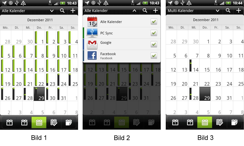 Google Kalender Android