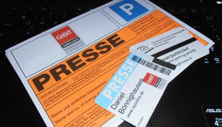 Presseausweis CeBIT