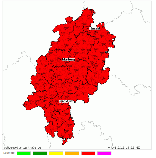 Unwetterzentrale Hessen Aktuell