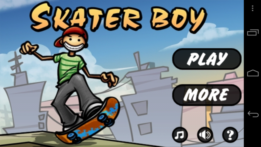 Skater Boy Android App