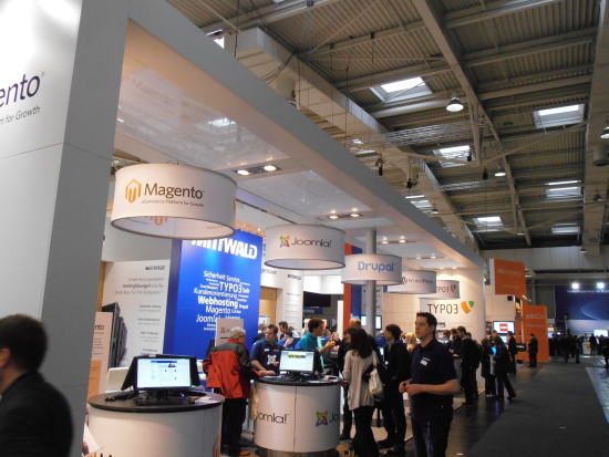 Open Source Stand CeBIT