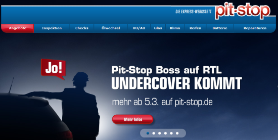 Pit-Stop bei Undercoverboss