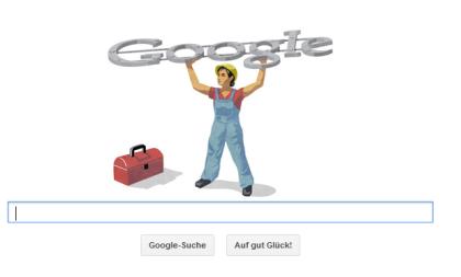 Google Doodle – Tag der Arbeit