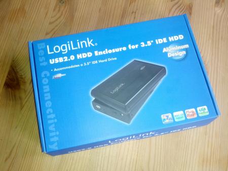 LogiLink externes IDE-Gehäuse