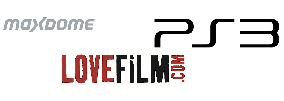 Maxdome Lovefilm PlayStation 3