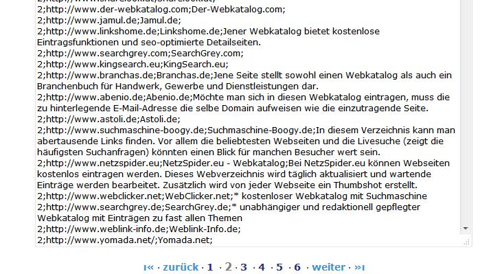 2wid-exportfunktion-liste