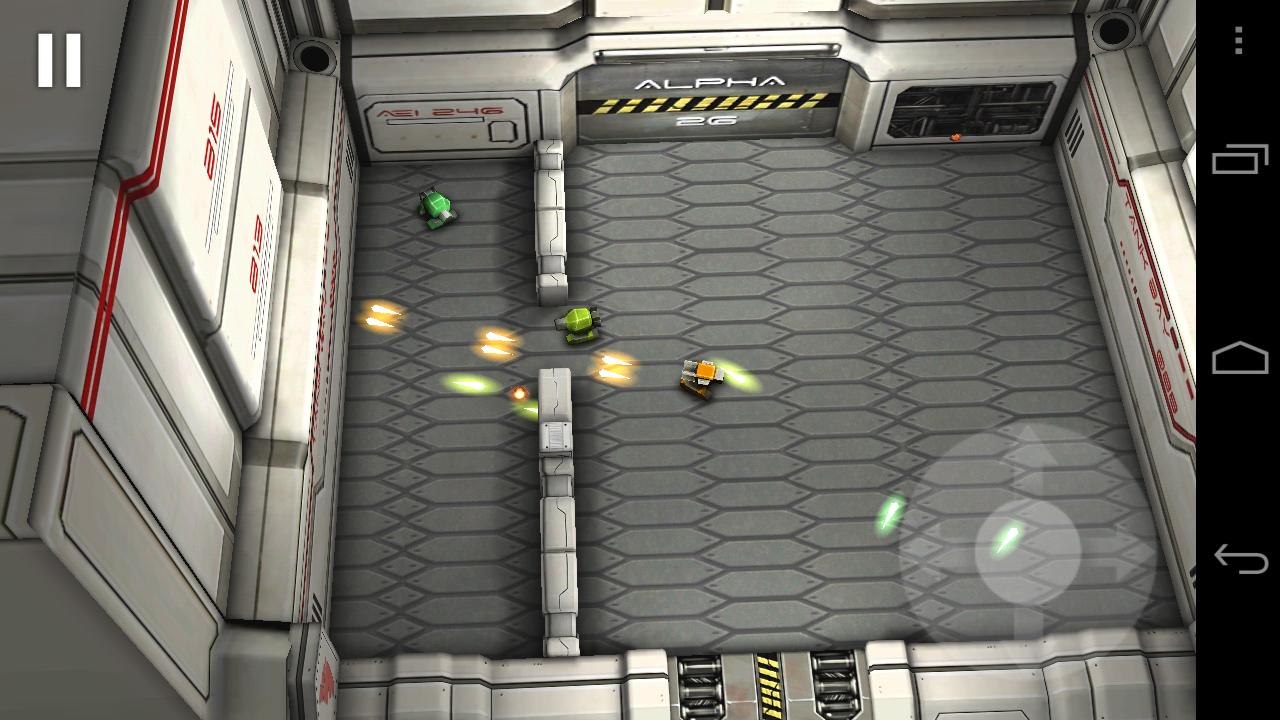 Tank Hero: Laser Wars Ingame