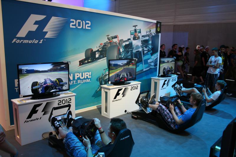 Gamescom 2012 Formel 1