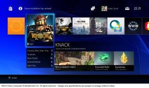 PS4 Menü