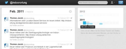 Twitter Backup offline nutzen