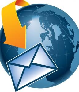 Bisher werden E-Mails immer um die ganze Welt geschickt