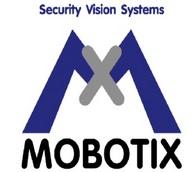 Das Logo des Sicherheitstechnikunternehmens Mobotix