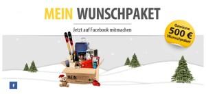 Meinpaket Gewinnspiel Meinpaket Gewinnspiel 500€ Wunschpaket