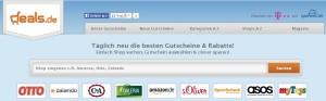 Deals.de bietet Gutscheine für die meisten großen Onlinehändler