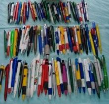 Kugelschreiber zusammenstecken war gestern