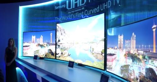 Samsung Ultra-HD Vorstellung CES2014