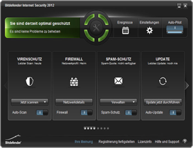 Screenshot Bitdefender Internet Security