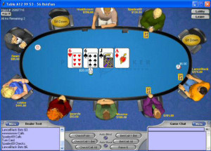 Screenshot von Planet Poker