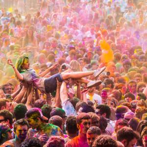 Impressionen vom Holi Festival