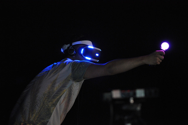 Project Morpheus PS4 VR-Brille