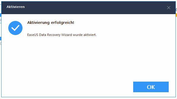 EaseUS Data Recovery Wizard Pro Aktivierung