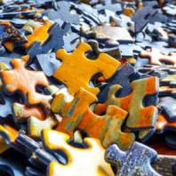 Puzzlestücke Fuzzy Logik