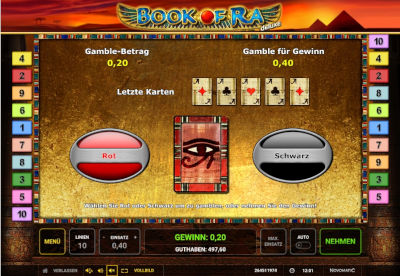 Gamble Modus Book of Ra Deluxe