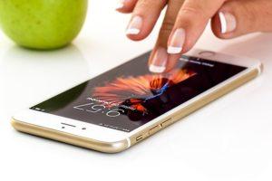 Erweiterter Körper Smartphone