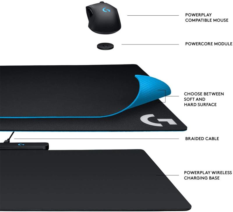 Logitech Powerplay Wireless Charging Mouse Pad